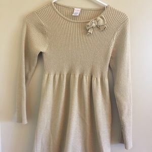 Shimmery Gold Sweater by Gymboree